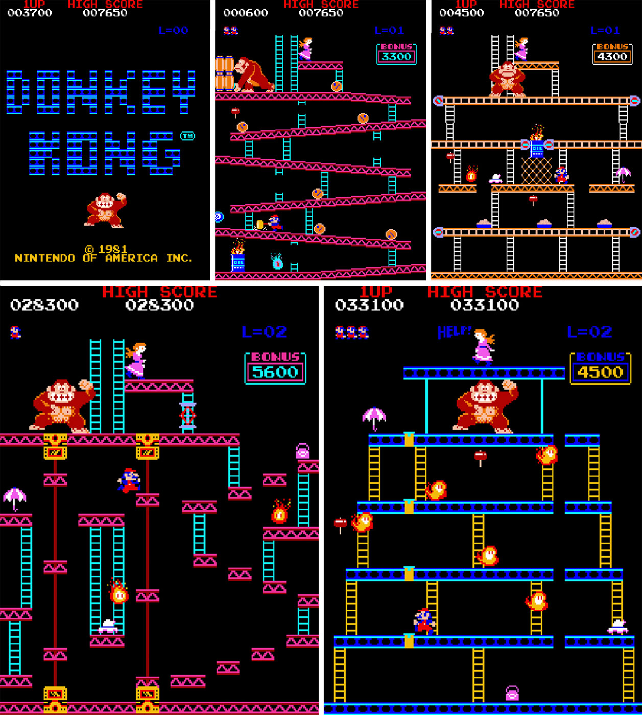 Hamster releases the original arcade version of Donkey Kong