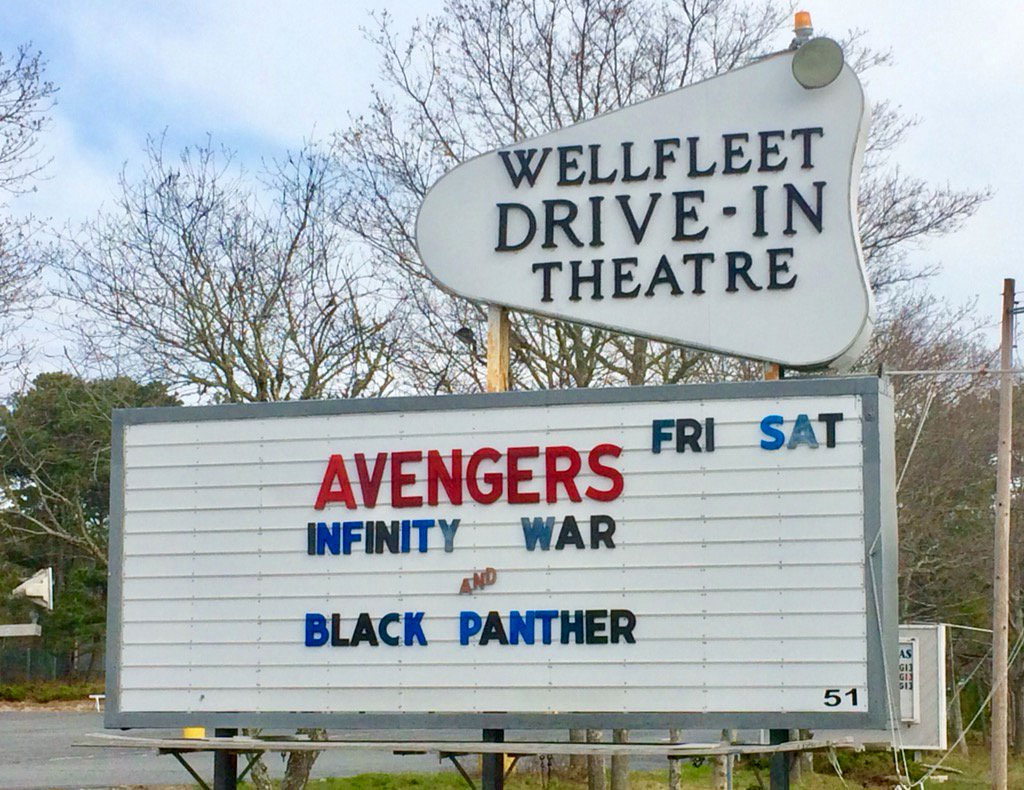 Avangers Infinity War and Black Panther double feature