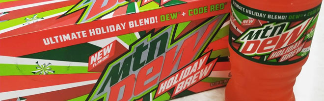 Mt. Dew's Holiday Brew combo-beverage