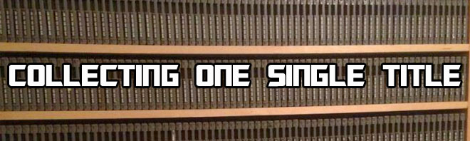 """I'd never heard of """"single title mega collections"""" - collecting a"""