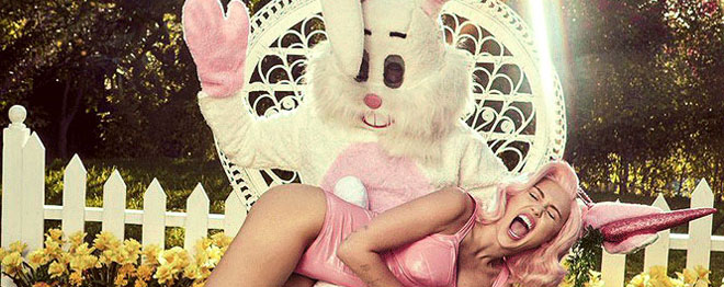 Miley Cyrus wins Easter
