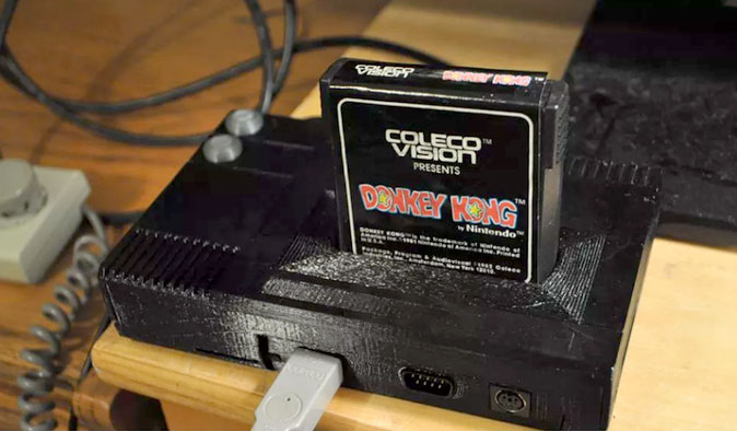 CollectorVision's #Phoenix is an #FPGA-based #ColecoVision