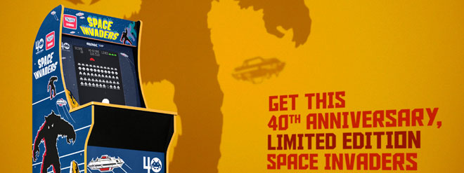Arcade1Up released a Limited Edition #SpaceInvaders cabinet