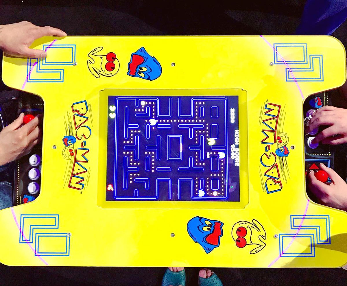 Arcade1Up announced #Namco and #Capcom cocktail-style #arcade games