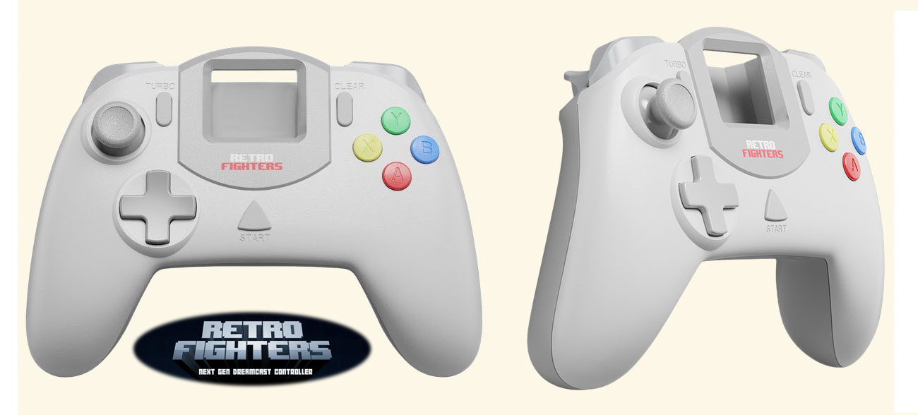 RetroFighters continue innovating the way we play video games, with