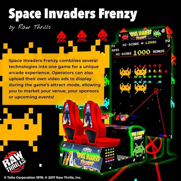 More Arcades should utilize #SpaceInvadersFrenzy's