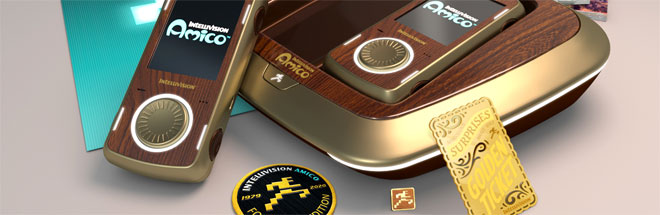 2,600 limited edition woodgrain Founder's Edition Amico console pre-orders sold out