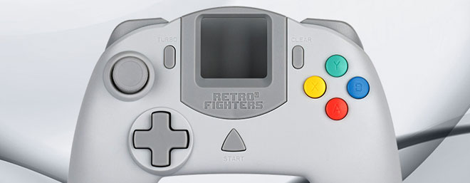 Retro Fighters Striker DC controller for Dreamcast