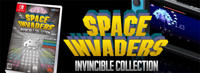 Space Invaders Invincible Collection for Switch