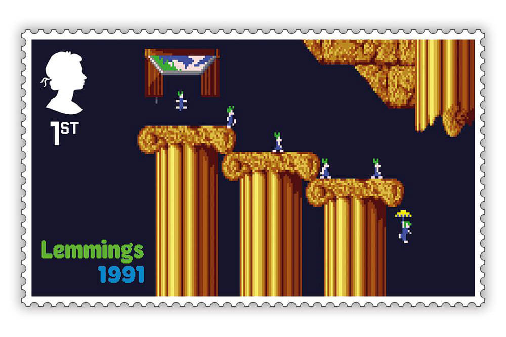 video game stamps for the Royal Mail