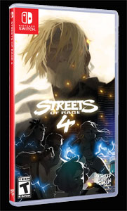 Streets Of Rage 4 physical release from Limited Run Games