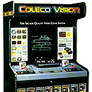 ColecoVision in-store display cabinet