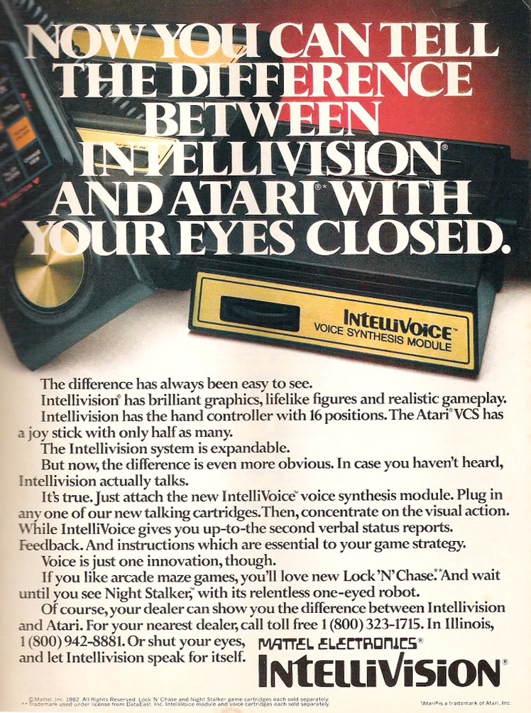 Mattel Electronics' #Intellivision was one of the first ...