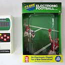 Basic Fun Electronic Football Packaging