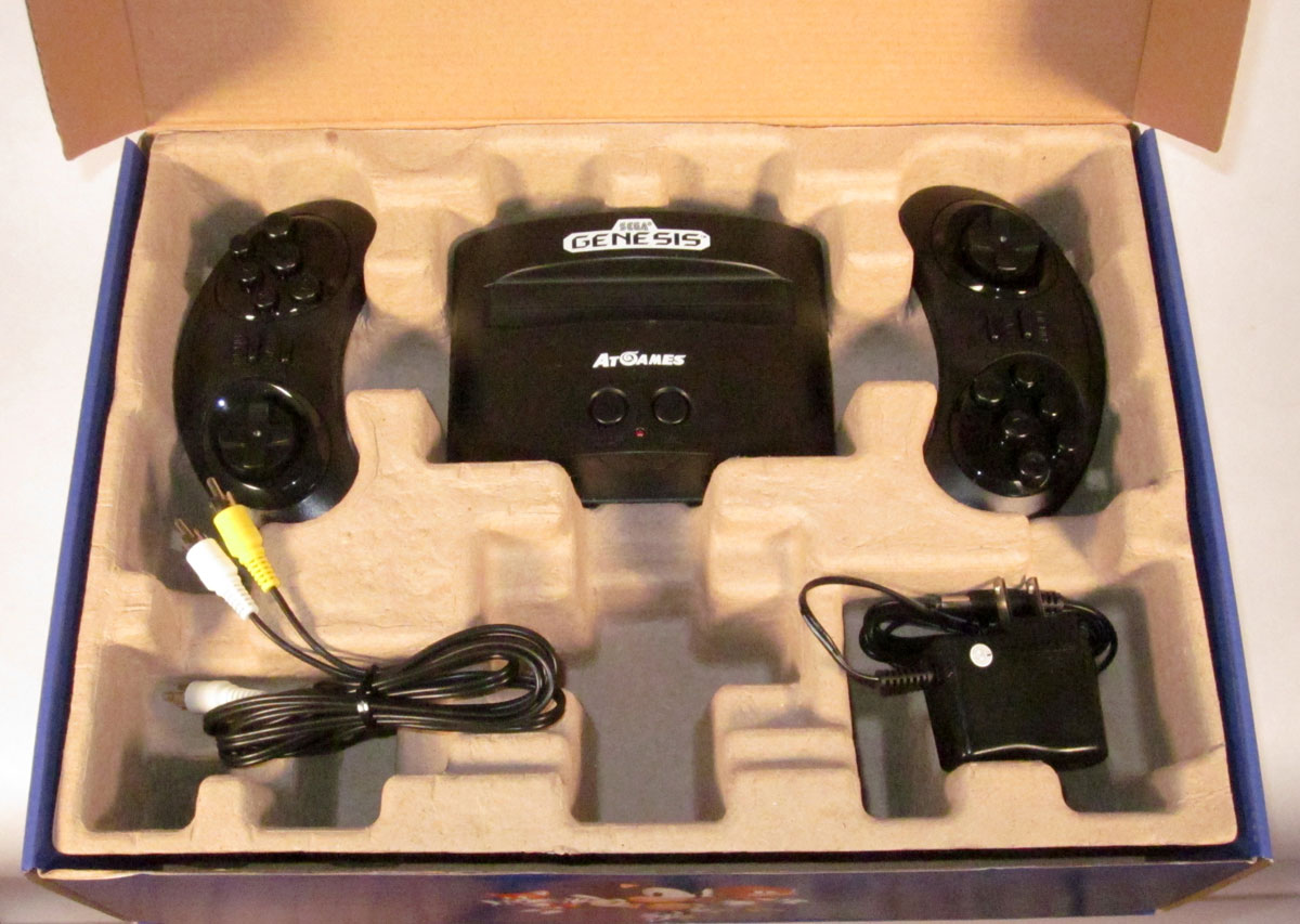 AtGames Genesis Classic Console: 80 built-in games, wireless