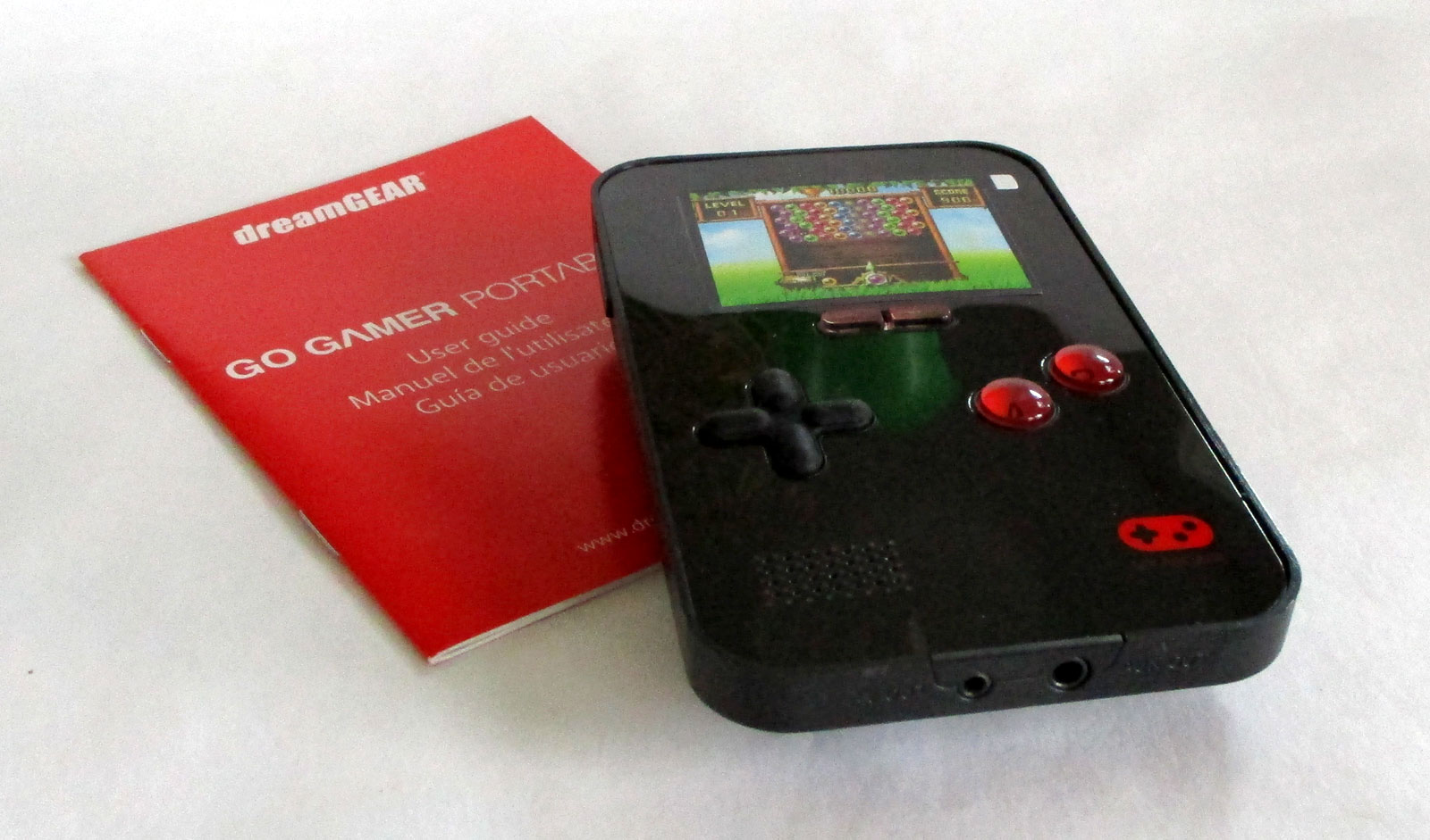 Dreamgear 39 S Go Gamer Portable Game Console Contains