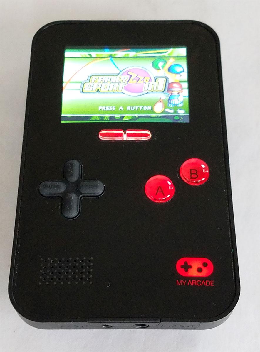 Go Gamer Portable Game Console