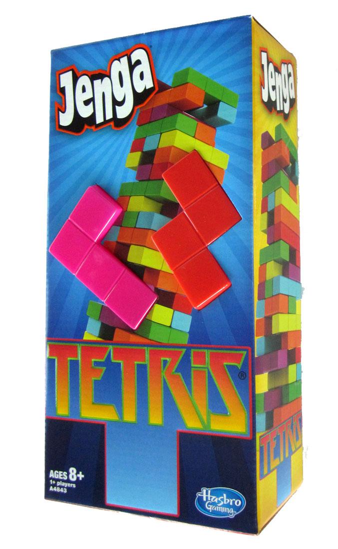 Tetris Jenga Allows Jagged Towers Like The Video Game The Odd