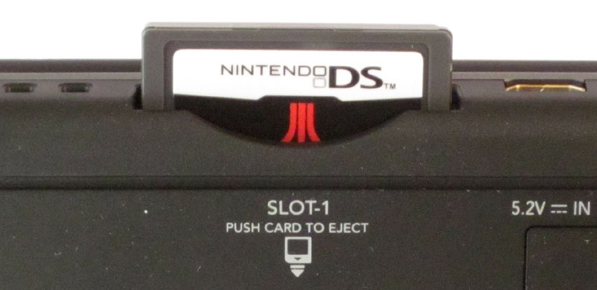 Ds lite cartridge slot cover