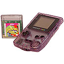 Nintendo GameBoy Color with game cart