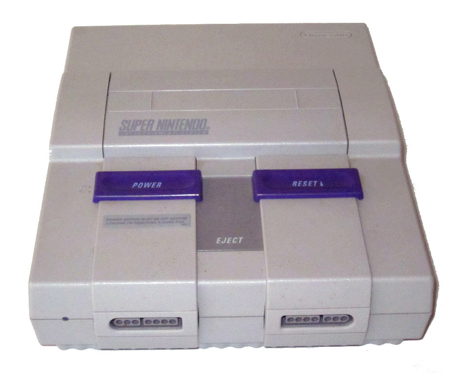 Image Gallery Snes Console