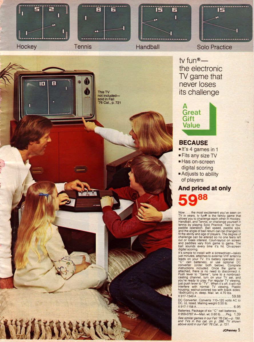 Retro #toys and #videoGames from the JC Penny Christmas
