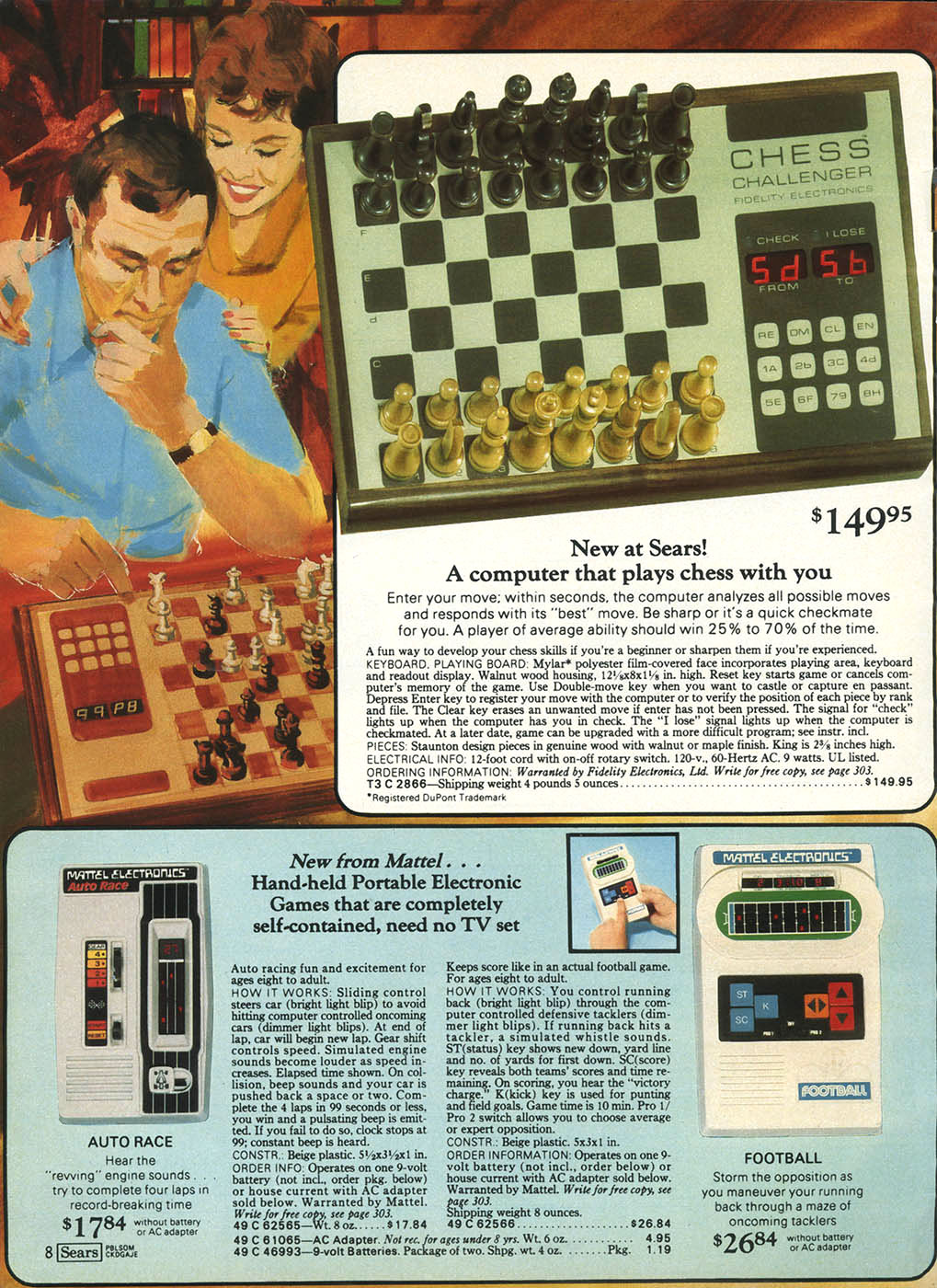 Retro Toys And Videogames From The Sears Christmas Wish