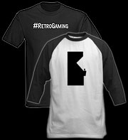 Retro gaming video game t-sthirts, clothing & accessories