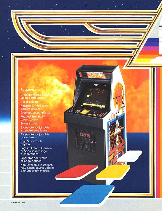Game review: Atari Missile Command for #Atari 2600