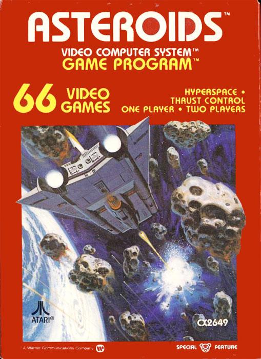 Asteroids [Atari 2600] Asteroids2600