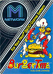 M Network Burger Time for Atari 2600 Classic Retro Gaming Video Game Review