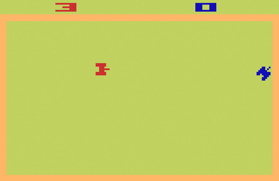 Game review: Atari Combat for #Atari 2600 | More fun than ...