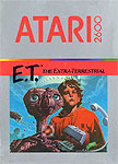 E.T. The Extra-Terrestrial for Atari 2600 Classic Retro Gaming Video Game Review