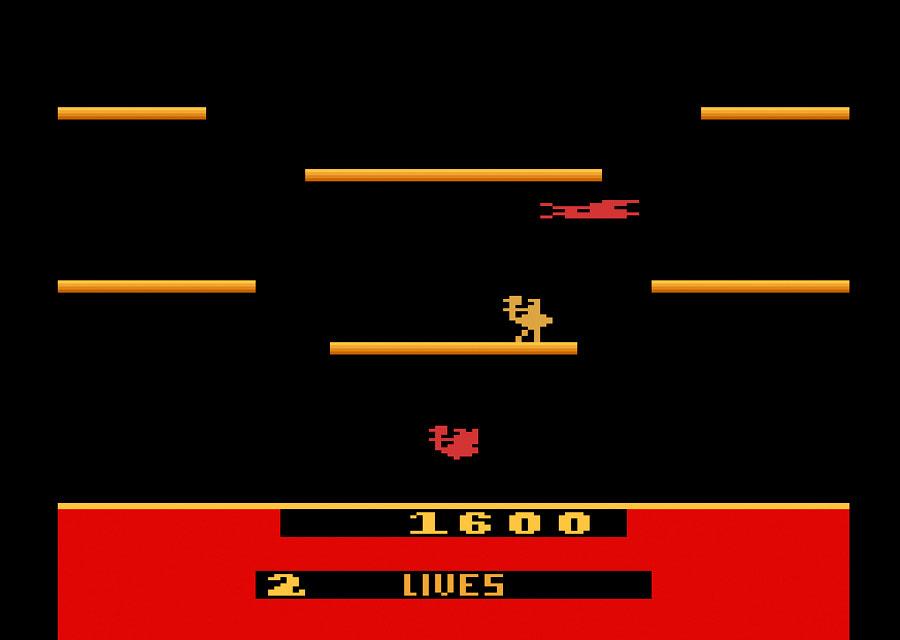 Atari Joust -Atari 2600