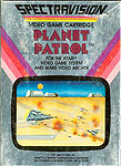 Spectravision's Planet Patrol for Atari 2600 Classic Retro Gaming Video Game Review