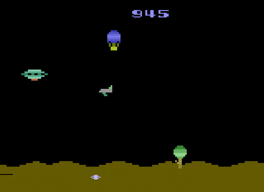 Atari Space Games