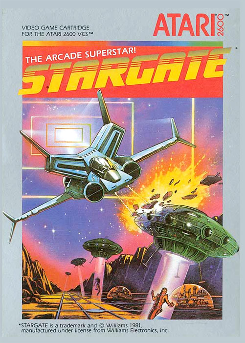 Game Review Atari Stargate Defender Ii For Atari 2600
