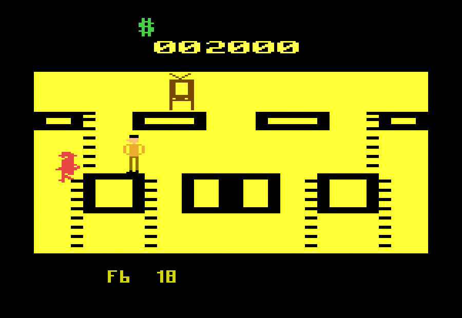 American Videogame Tax Avoiders for Atari 2600 screenshot Classic Retro Gaming Video Game Review