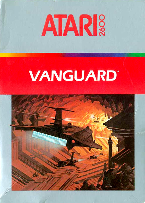 Game Review Atari Vanguard For Atari 2600 4 Way