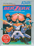 Atari Berzerk for Atari 5200 Classic Retro Gaming Video Game Review