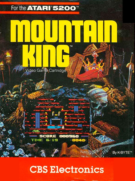 Game Review Cbs Electronics Mountain King For Atari 5200