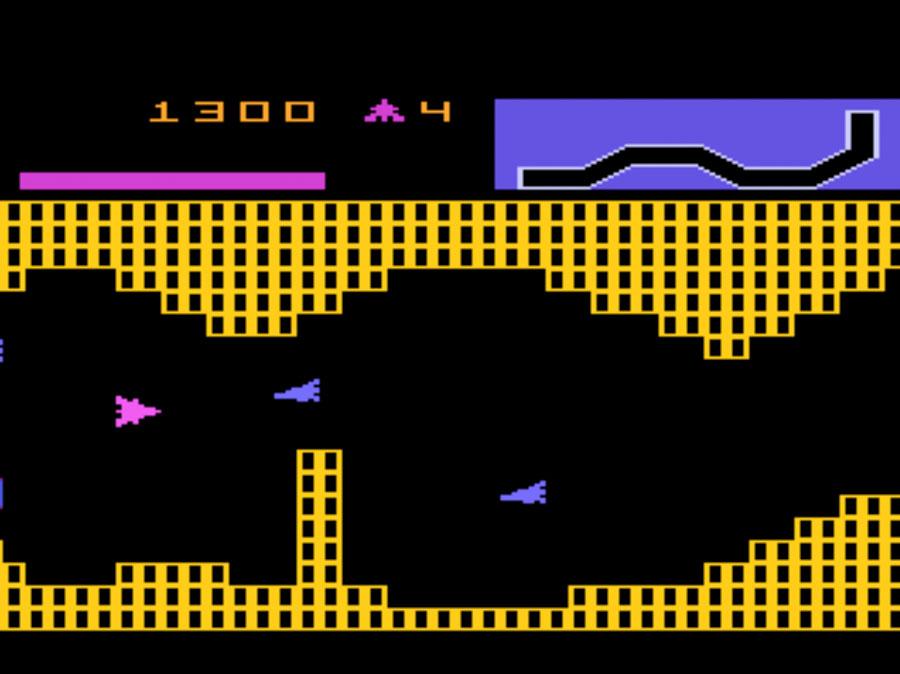 Game review: Atari Vanguard for #Atari 5200 | Innovative maneuvering ...