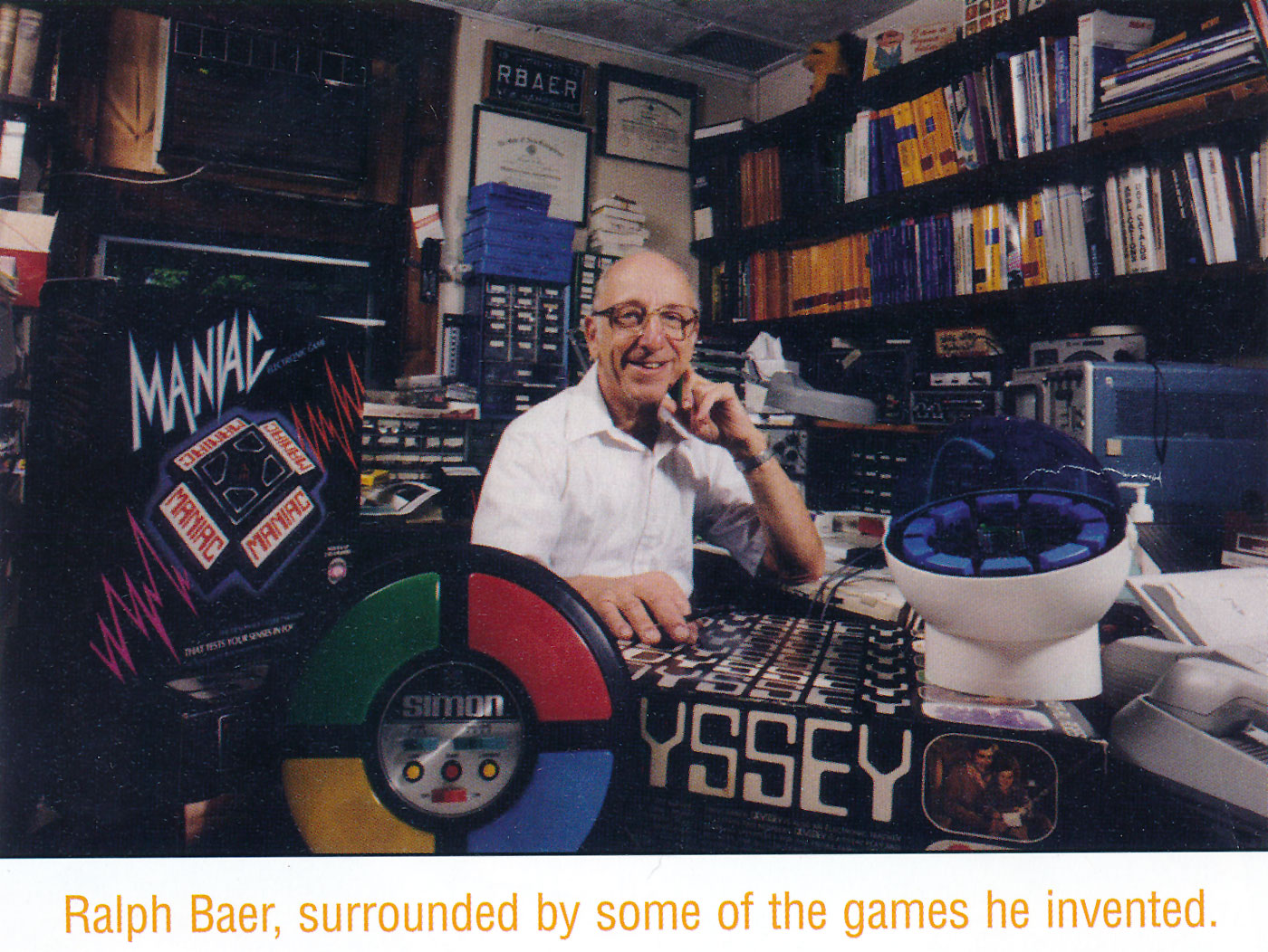 who invented video games