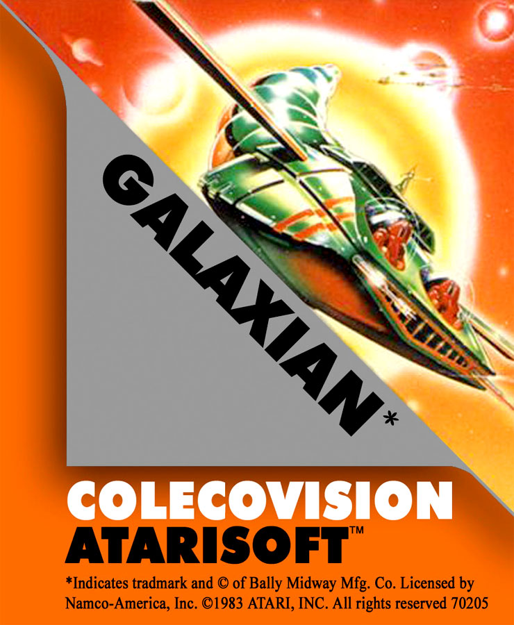 Game review: Atarisoft Galaxian for #Colecovision #coleco