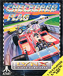 Atari's Checkered Flag for Atari Lynx Classic Retro Gaming Video Game Review