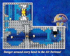 Hal Air Fortress for Nintendo NES ad Classic Retro Gaming Video Game Review