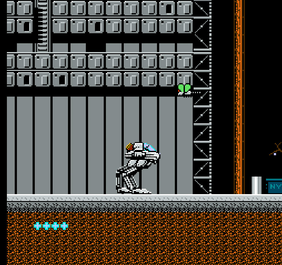 Jaleco's Metal Mech, Man & Machine game for NES