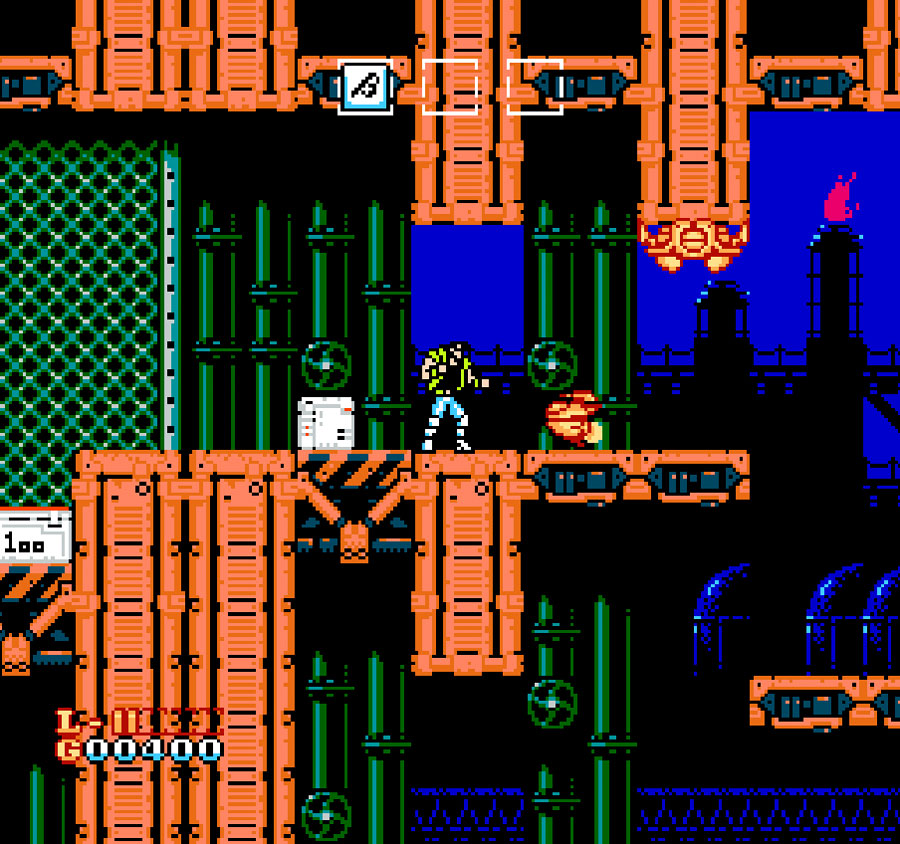 Jaleco's Shatterhand game for NES