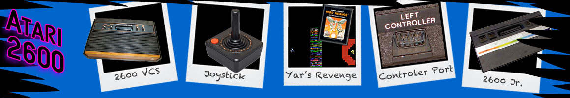 Retro Classic Video Games Atari 2600