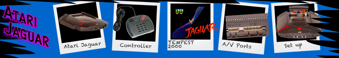 Retro Classic Video Games Atari Jaguar